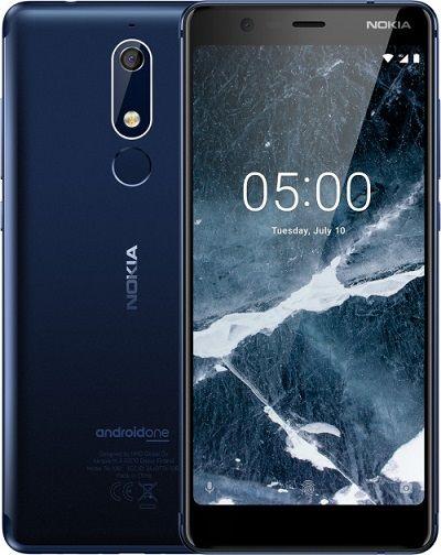 Nokia 5.1 alemman hintaluokan puhelin puhtaalla androidilla