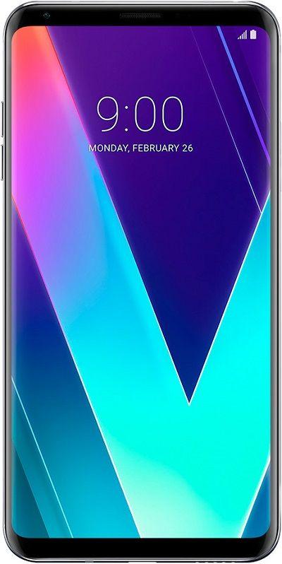 LG V30S ThinQ älypuhelin hyvällä näytöllä ja loistavilla takakameroilla